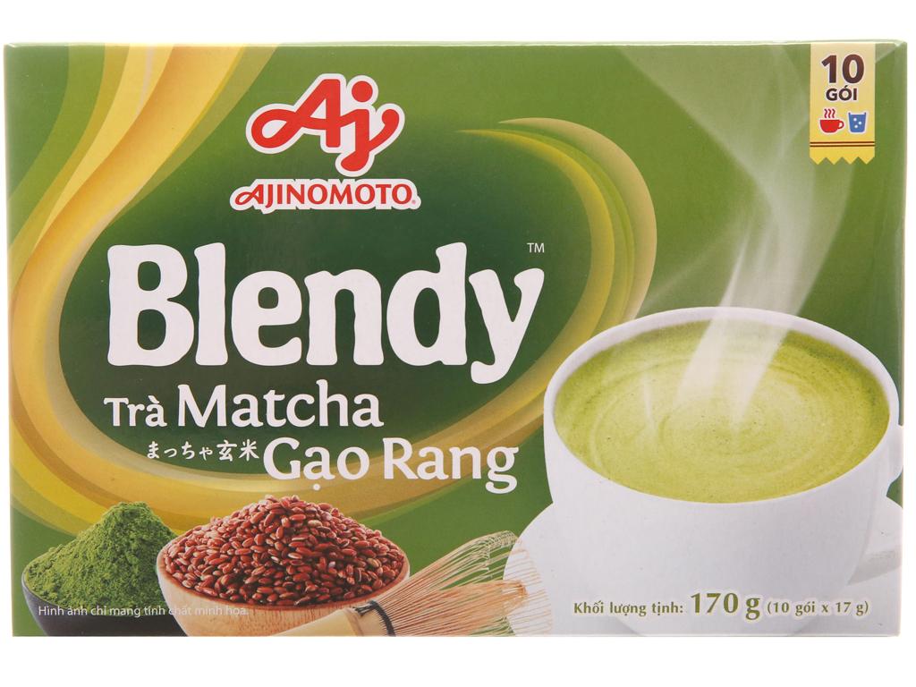Trà matcha gạo rang Blendy hộp 170g (17g x 10 túi) 2