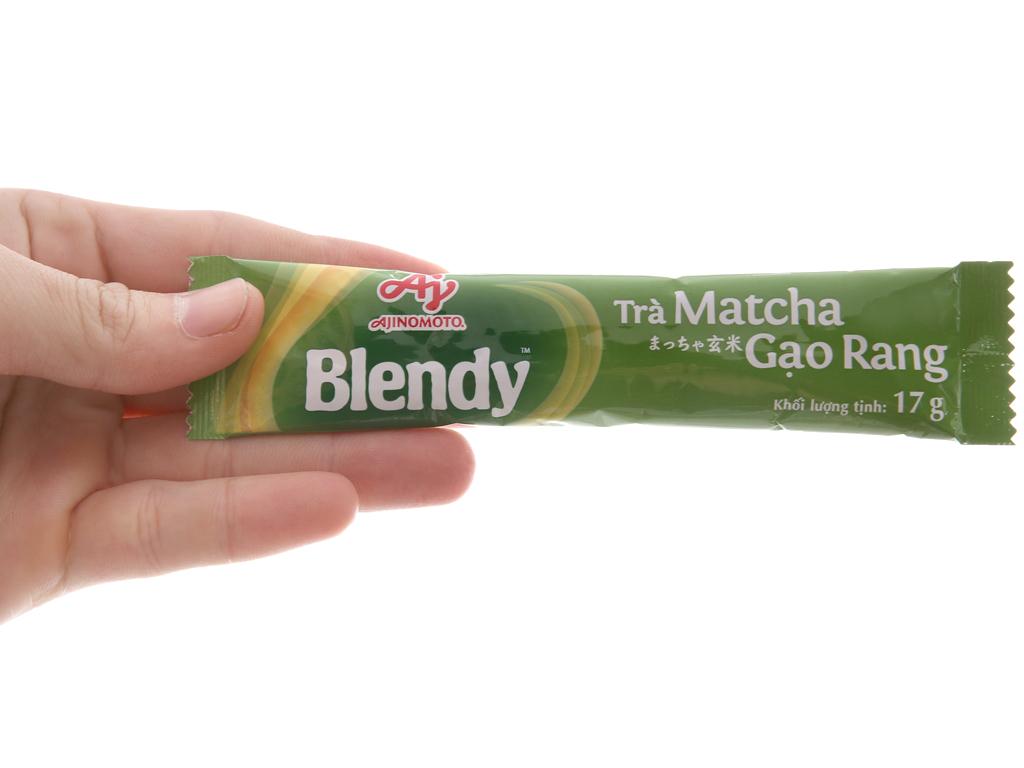 Trà matcha gạo rang Blendy hộp 170g (17g x 10 túi) 5