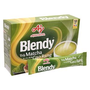 Trà matcha gạo rang Blendy hộp 170g (17g x 10 gói)