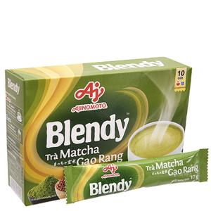 Trà matcha gạo rang Blendy hộp 170g (17g x 10 túi)