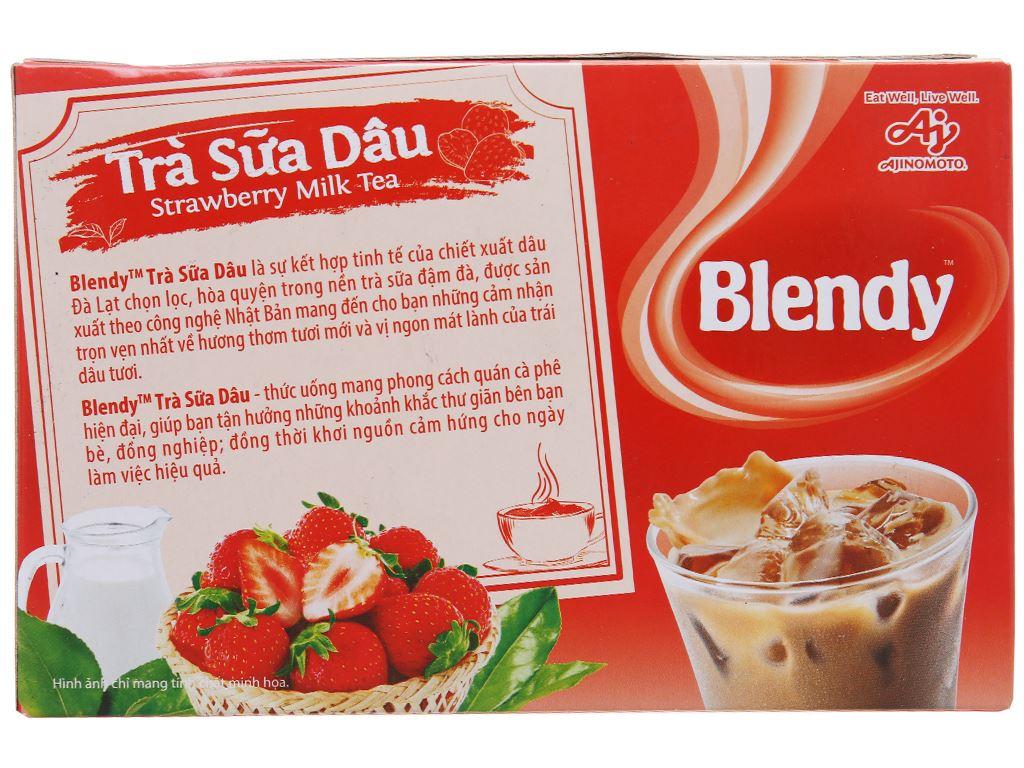 Trà sữa dâu Blendy 180g 3