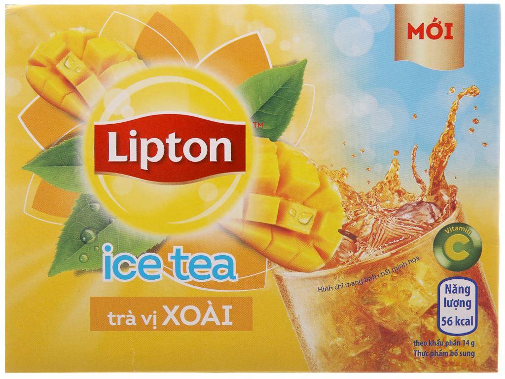 Trà xoài Lipton Ice Tea hộp 224g (14g x 16 túi) 1