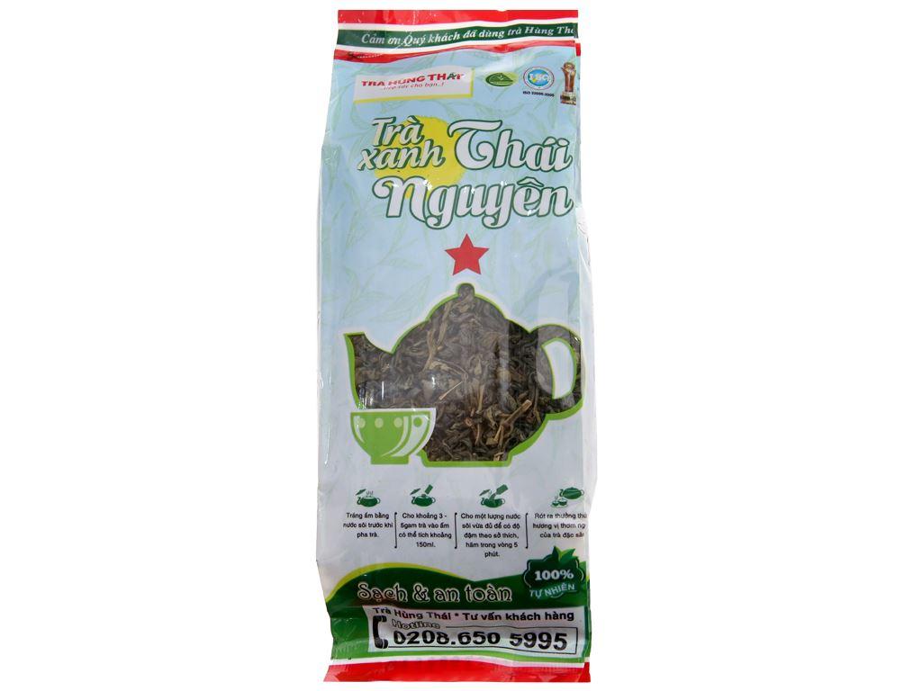 Trà xanh Thái Nguyên Hùng Thái sao đỏ 100g 2