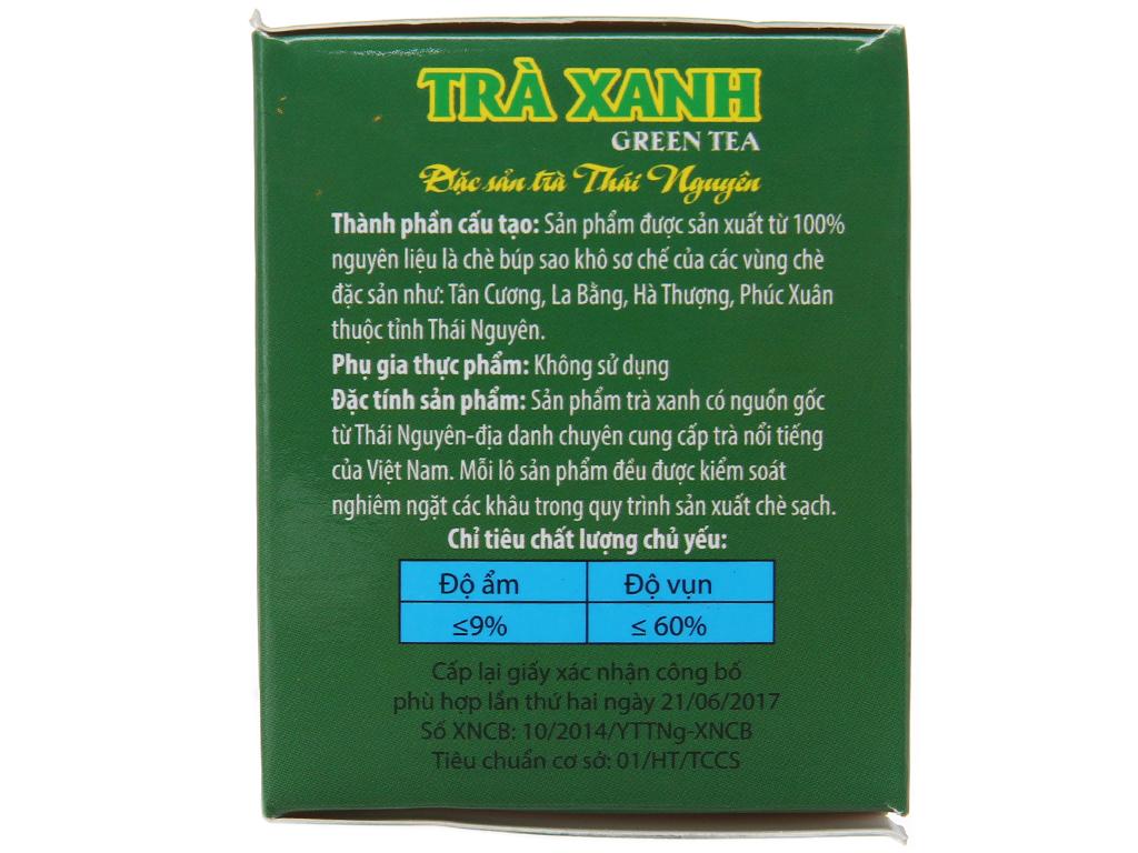 Trà xanh Hùng Thái hộp 40g (2g x 20 túi) 3