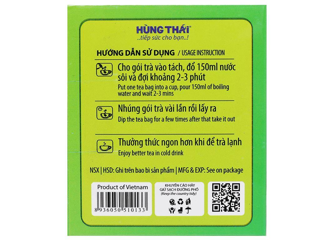Trà xanh Hùng Thái 40g 10
