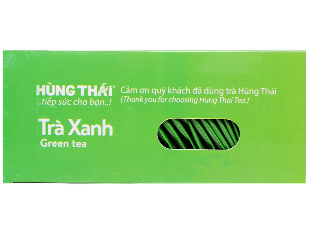 Trà xanh Hùng Thái 40g 12