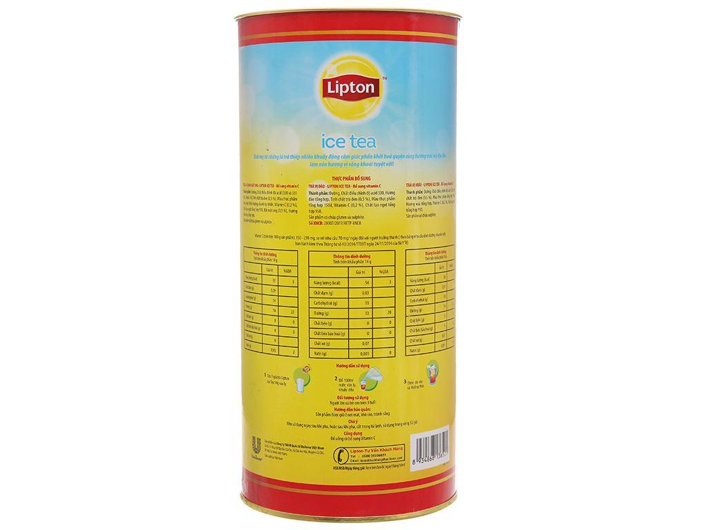 Trà xoài Lipton Ice Tea ống 224g (14g x 16 túi) 2