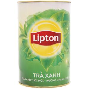 Trà xanh Lipton bung tỏa hương chanh ống mini 13.5g