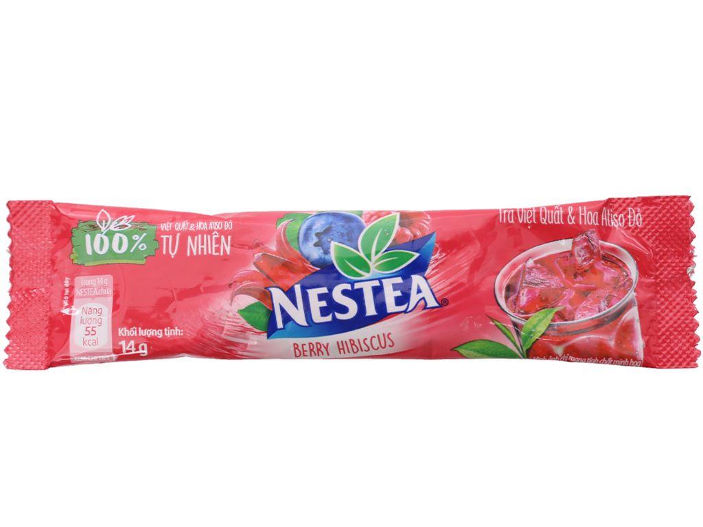Trà Việt Quất và Atiso đỏ Nestea hộp 140g (10 gói x 14g) 6