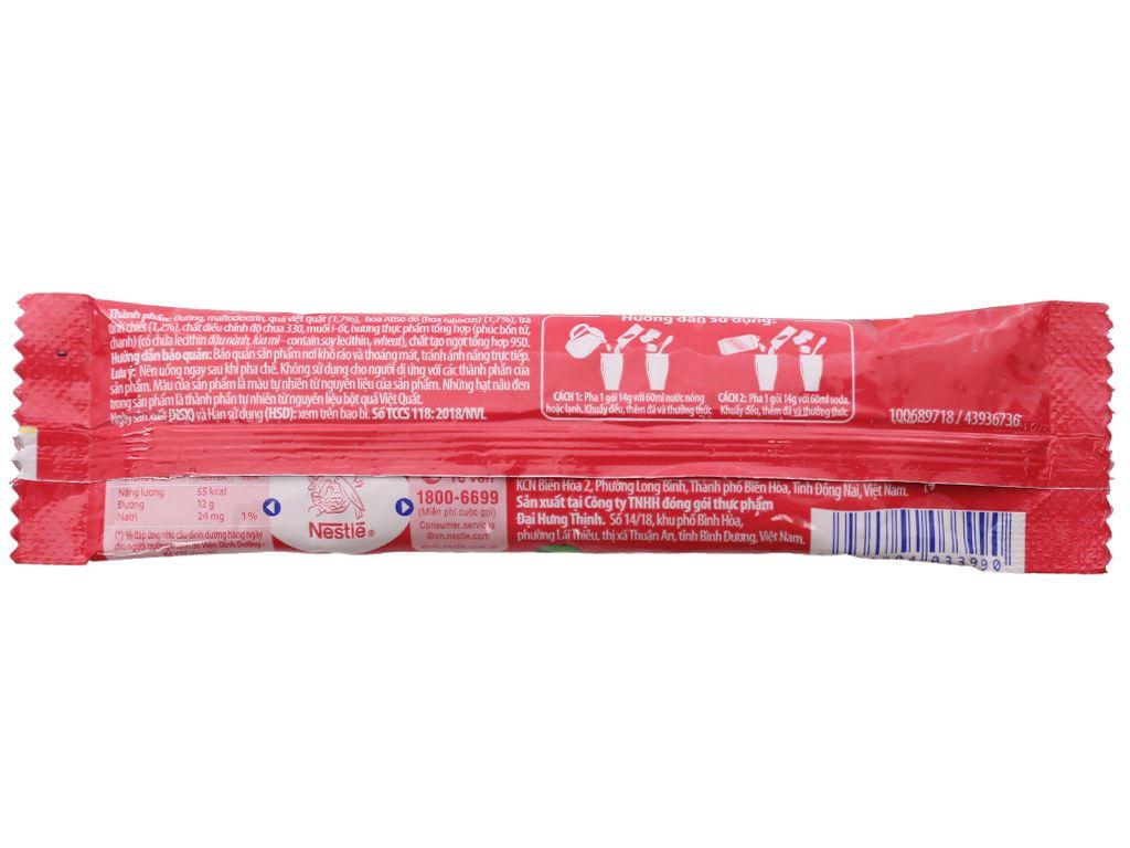 Trà Việt Quất và Atiso đỏ Nestea hộp 140g (10 gói x 14g) 7