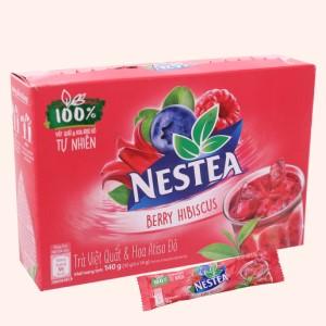 Trà Việt Quất và Atiso đỏ Nestea hộp 140g