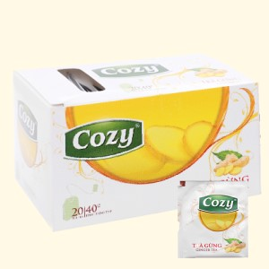 Trà gừng Cozy hộp 40g