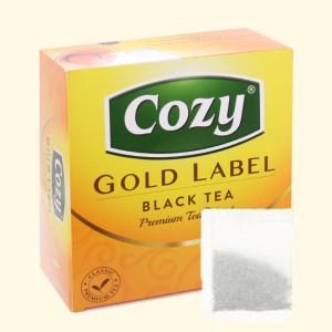 Trà đen Cozy Nhãn Vàng hộp 200g