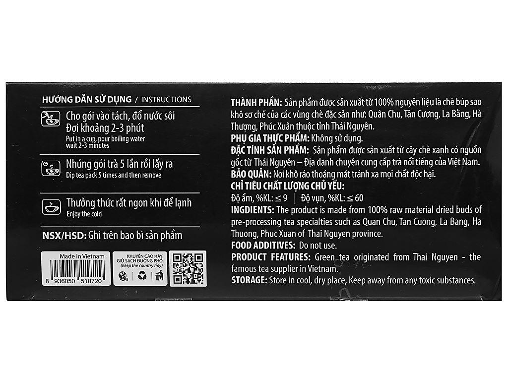 Trà đen Hùng Thái hộp 50g (2g x 25 túi) 2