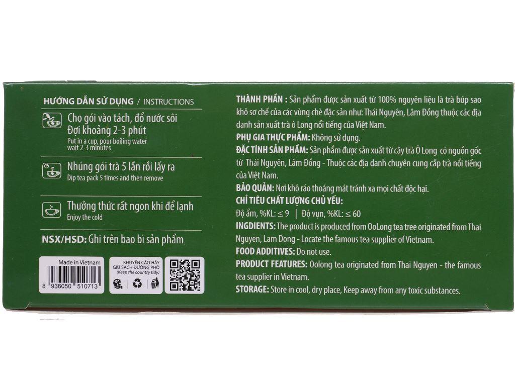Trà ô long Hùng Thái hộp 50g (2g x 25 túi) 2