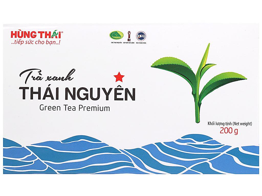 Trà xanh Thái Nguyên Hùng Thái 1 Sao 200g 1