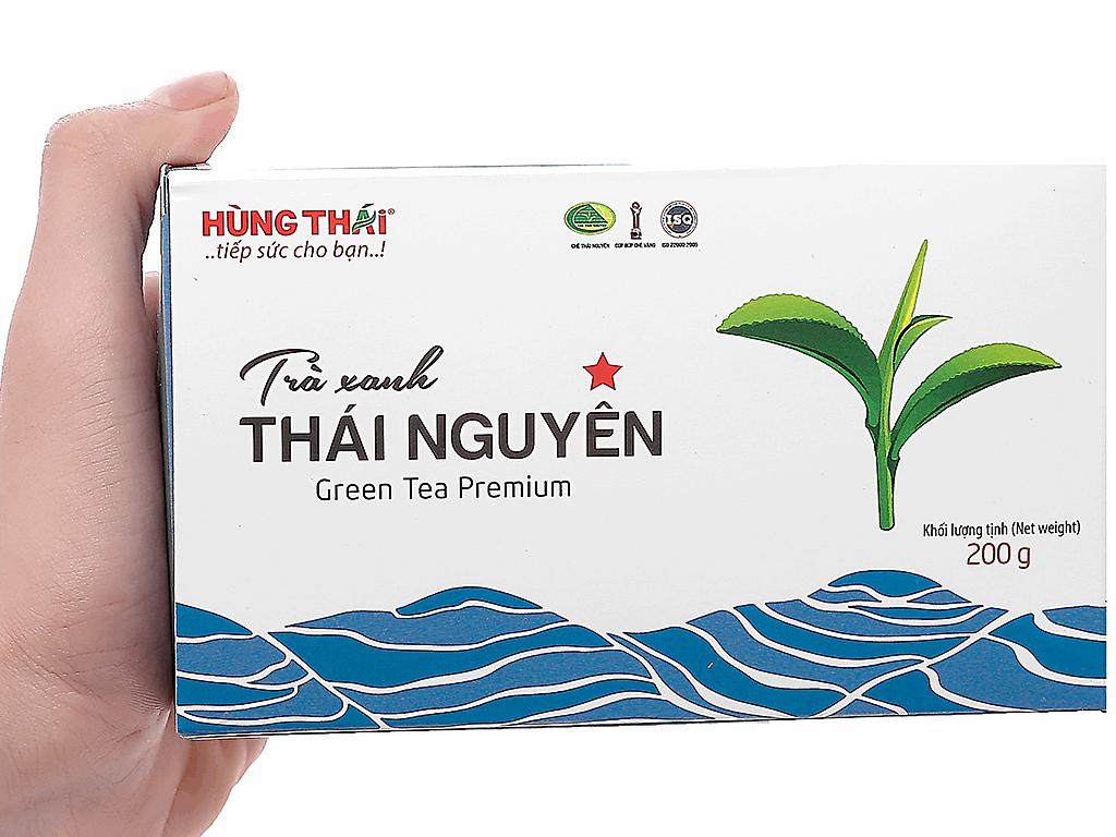 Trà xanh Thái Nguyên Hùng Thái 1 Sao 200g 3