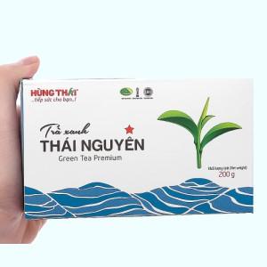 Trà xanh Thái Nguyên Hùng Thái 1 Sao hộp 200g