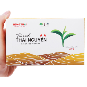 Trà xanh Thái Nguyên Hùng Thái 2 Sao 200g