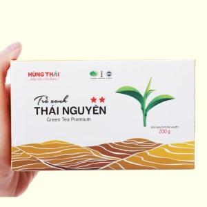Trà xanh Thái Nguyên Hùng Thái 2 Sao hộp 200g