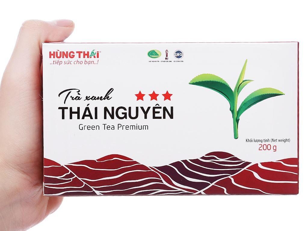 Trà xanh Thái Nguyên Hùng Thái 3 Sao hộp 200g 3