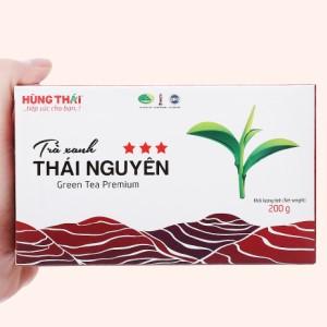 Trà xanh Thái Nguyên Hùng Thái 3 Sao hộp 200g