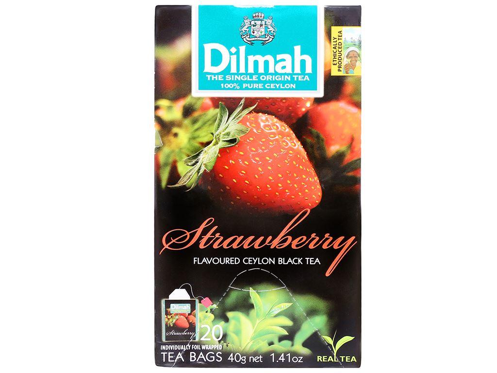 Trà hương dâu Dilmah hộp 40g (2g x 20 túi) 5