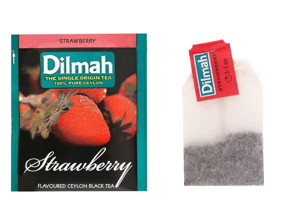 Trà hương dâu Dilmah hộp 40g (2g x 20 túi) 8