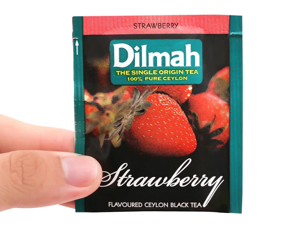 Trà hương dâu Dilmah hộp 40g (2g x 20 túi) 9