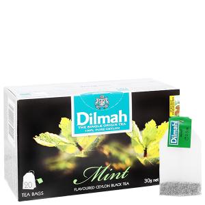 Trà Ceylon Dilmah hương bạc hà hộp 30g