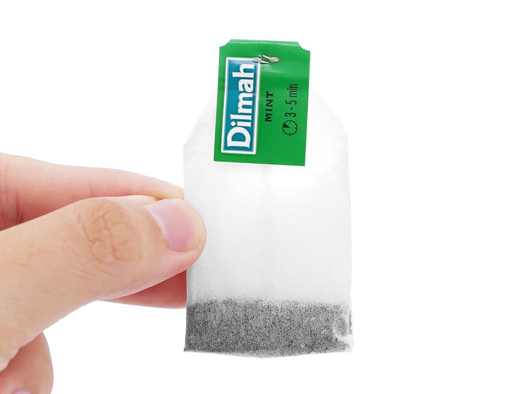 Trà Ceylon Dilmah hương bạc hà hộp 30g 7