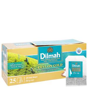 Trà Ceylon Gold Dilmah Gold hộp 50g
