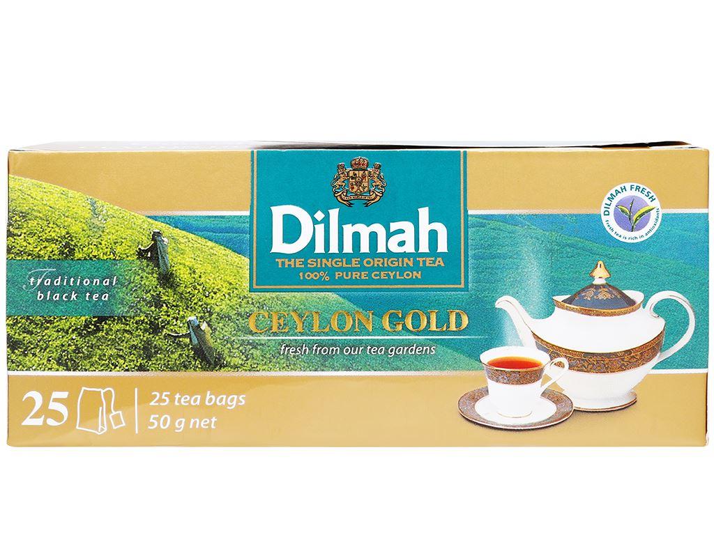Trà Dilmah Ceylon Gold hộp 50g (2g x 25 túi) 2