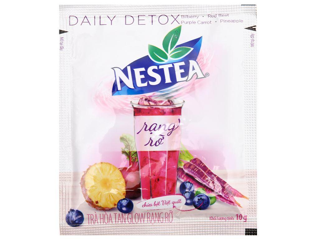 Trà daily detox Nestea Glow hộp 100g 7