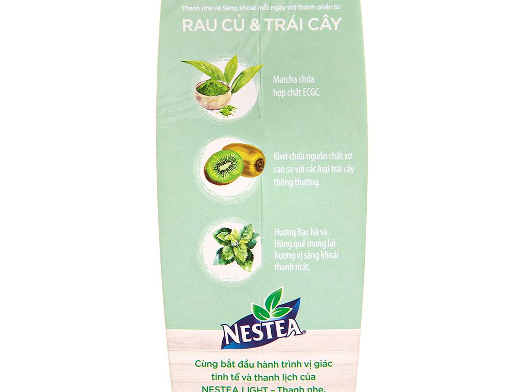 Trà daily detox Nestea Light hộp 100g 6