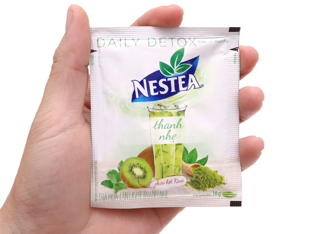 Trà daily detox Nestea Light hộp 100g 8