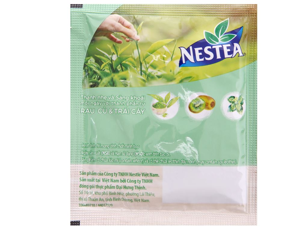 Trà daily detox Nestea Light hộp 100g 9