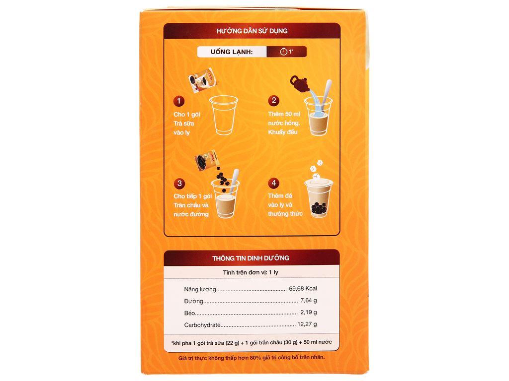 Trà sữa trân châu Hillway hộp 416g 4