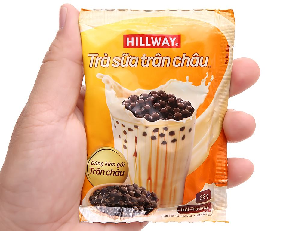 Trà sữa trân châu Hillway hộp 416g 7