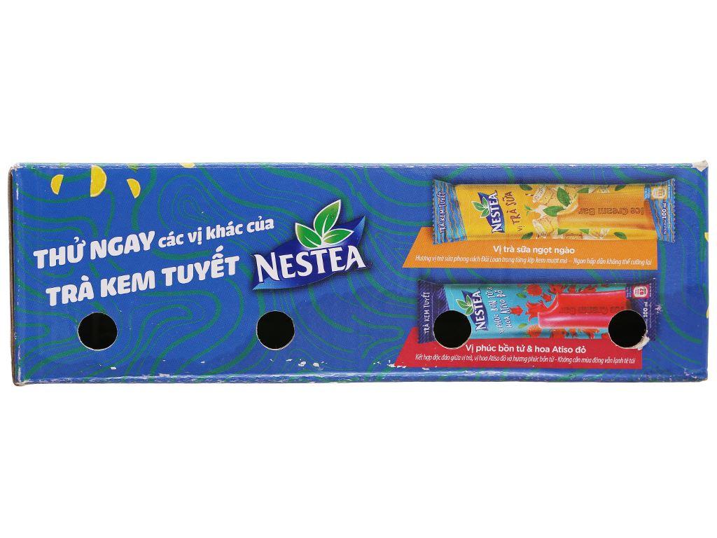 Trà kem tuyết Nestea vị trà chanh hộp 600ml 3