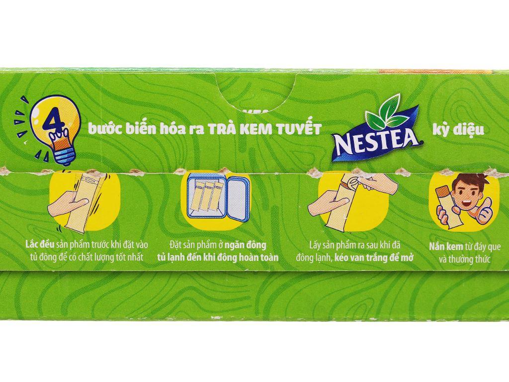 Trà kem tuyết Nestea vị trà chanh hộp 600ml 6