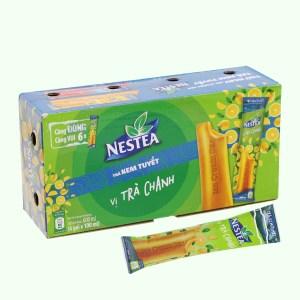 Trà kem tuyết Nestea vị trà chanh hộp 600ml
