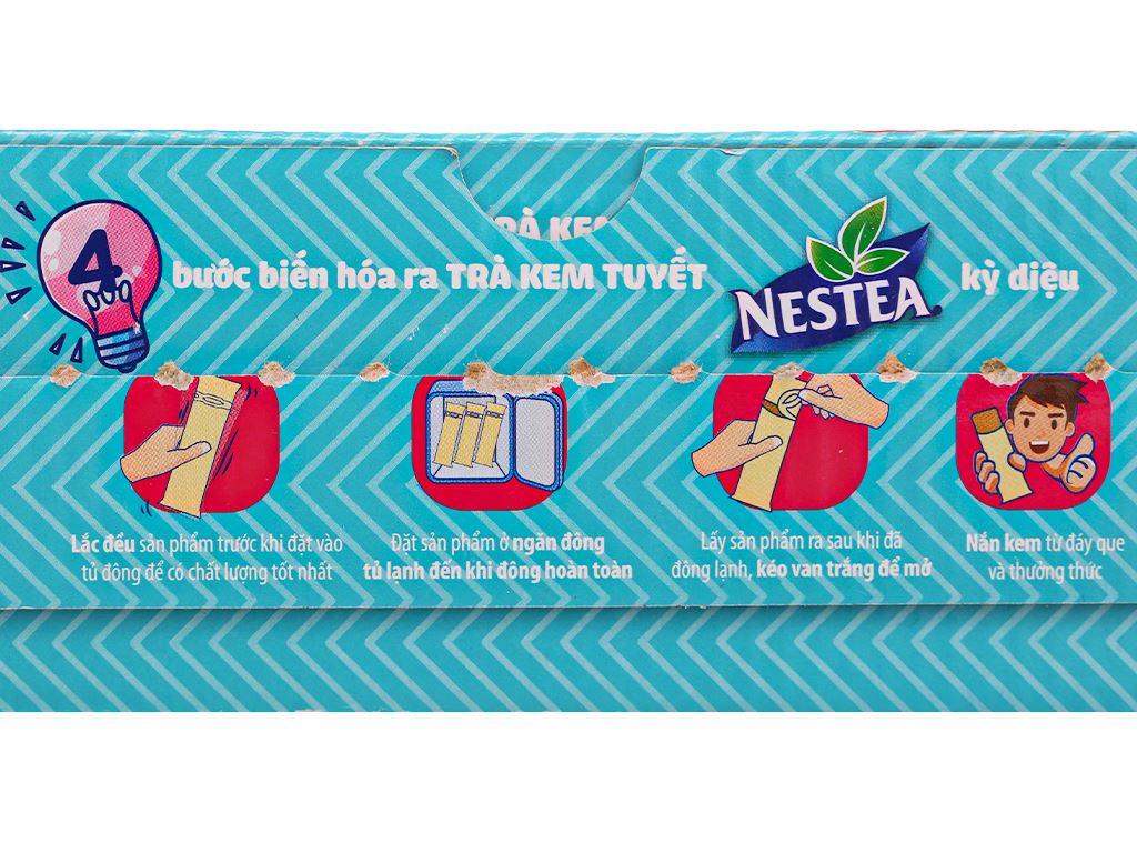 Trà kem tuyết Nestea vị Phúc bồn tử và hoa Atisô đỏ hộp 600ml 3
