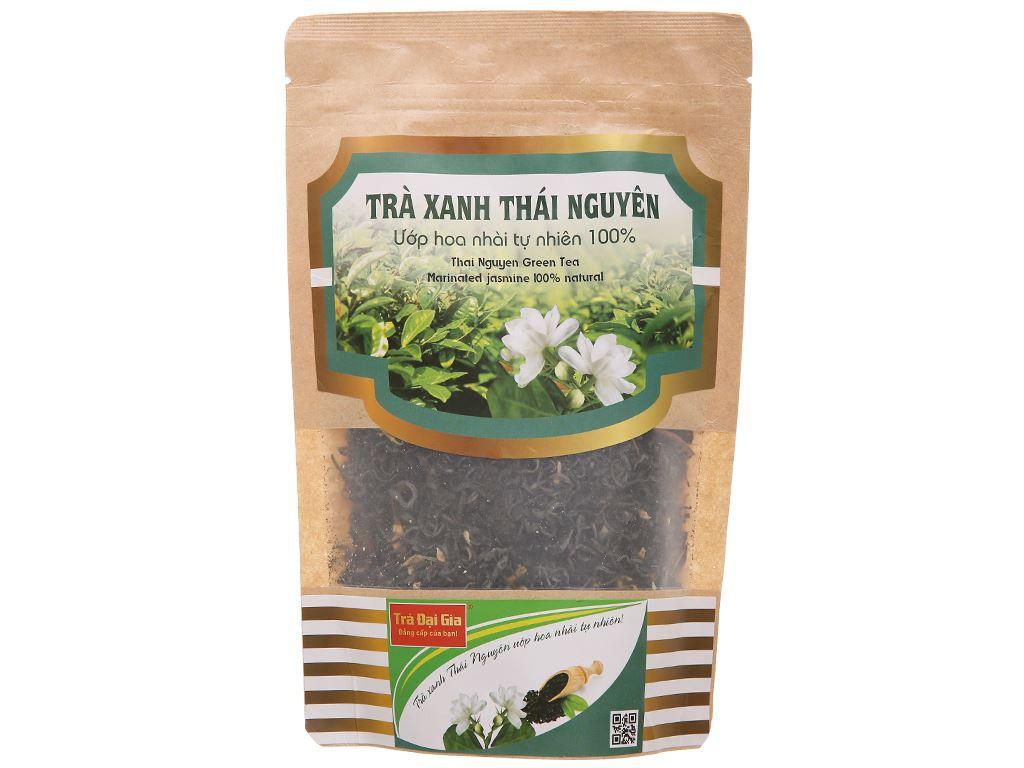 Trà xanh Thái Nguyên ướp hoa nhài Đại Gia gói 100g 1
