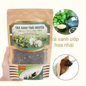 Trà xanh Thái Nguyên ướp hoa nhài Đại Gia gói 100g