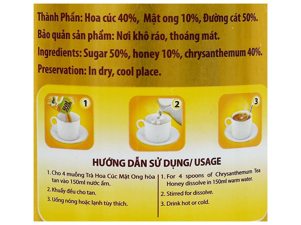 Trà hoa cúc mật ong Thanh Bình lon 400g 5