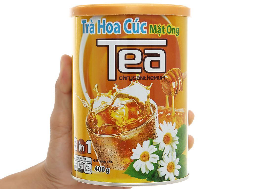 Trà hoa cúc mật ong Thanh Bình lon 400g 6