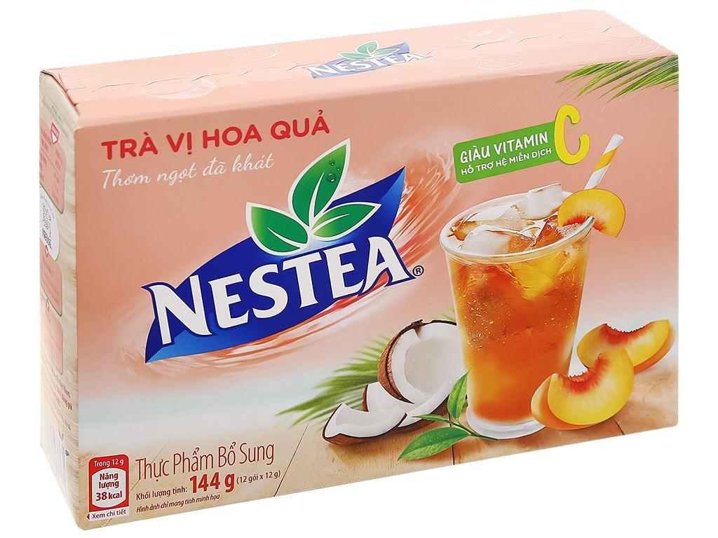 Trà Nestea vị hoa quả hộp 144g 1