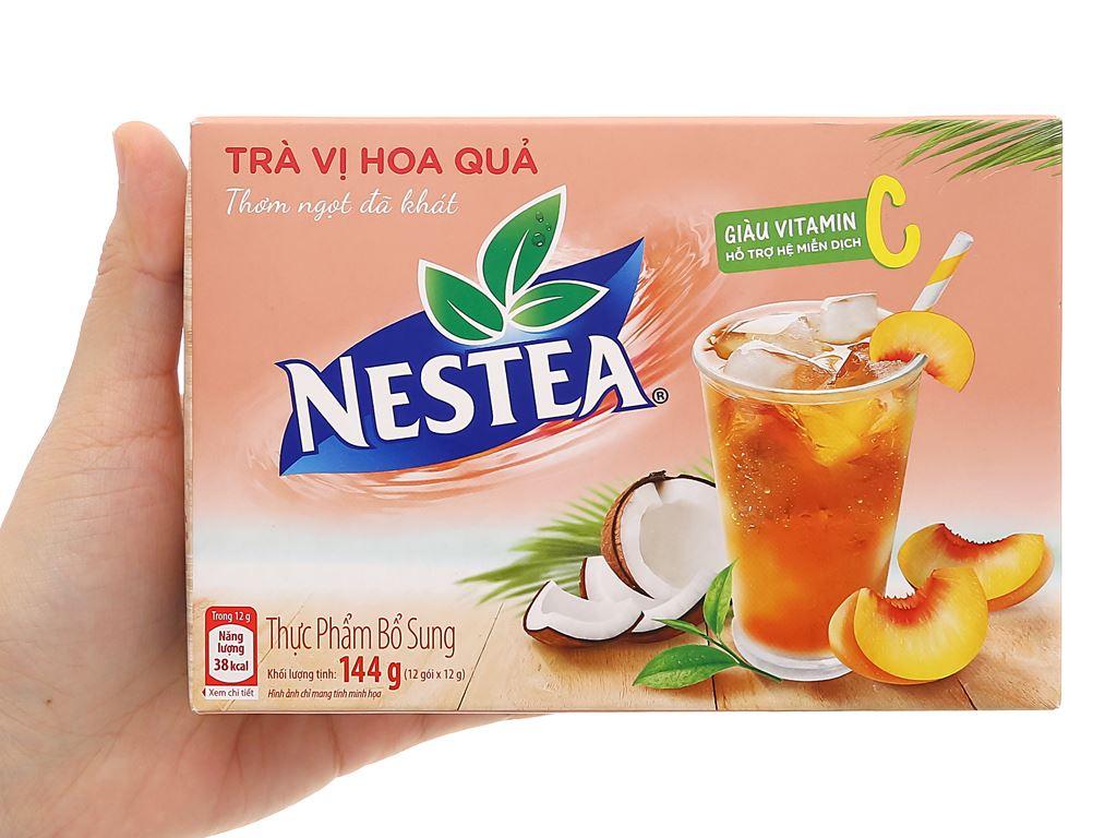 Trà Nestea vị hoa quả hộp 144g 6