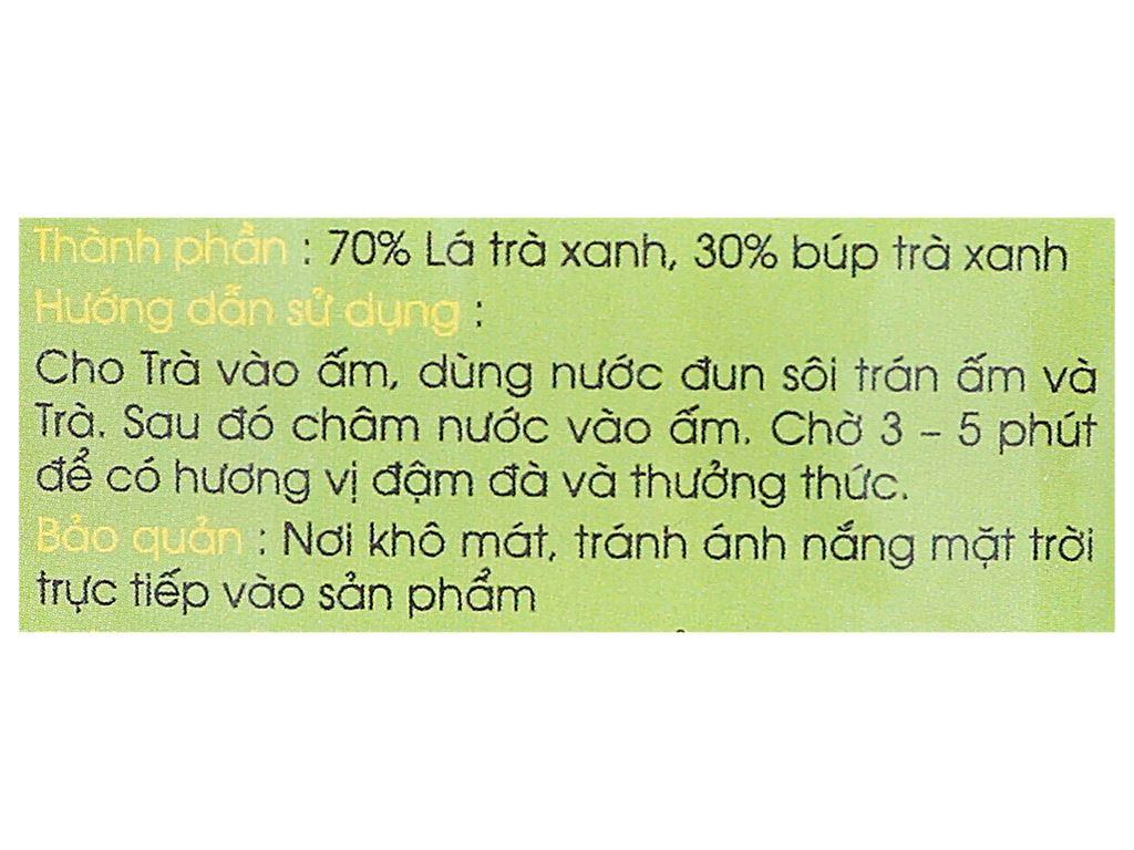 Trà xanh Thái Nguyên đặc biệt Tân Long 100g 5